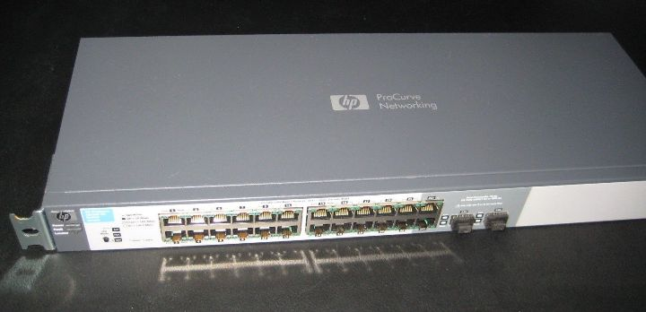 HP ProCurve Switch 1810-24G , 24 Port, managed
