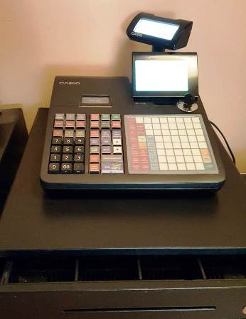 CASIO SE-C450 Electronic Cash Register