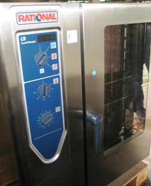 Rational Combi-Dämpfer CD 101 inkl. 20 Backbleche